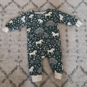 French Terry baby jumpsuit